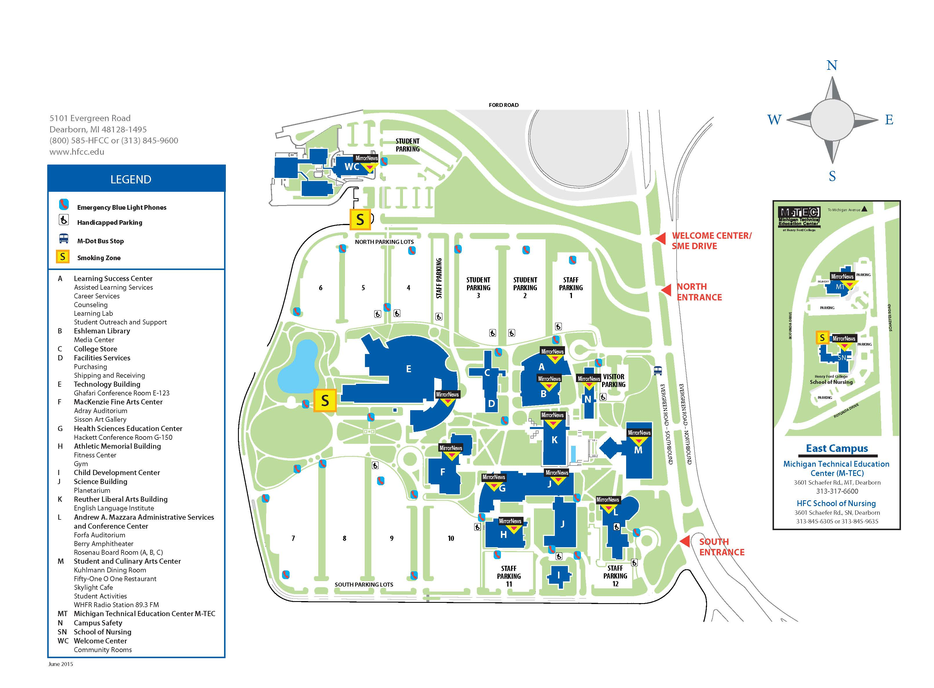 ford dearborn campus map About Us Mirror News ford dearborn campus map