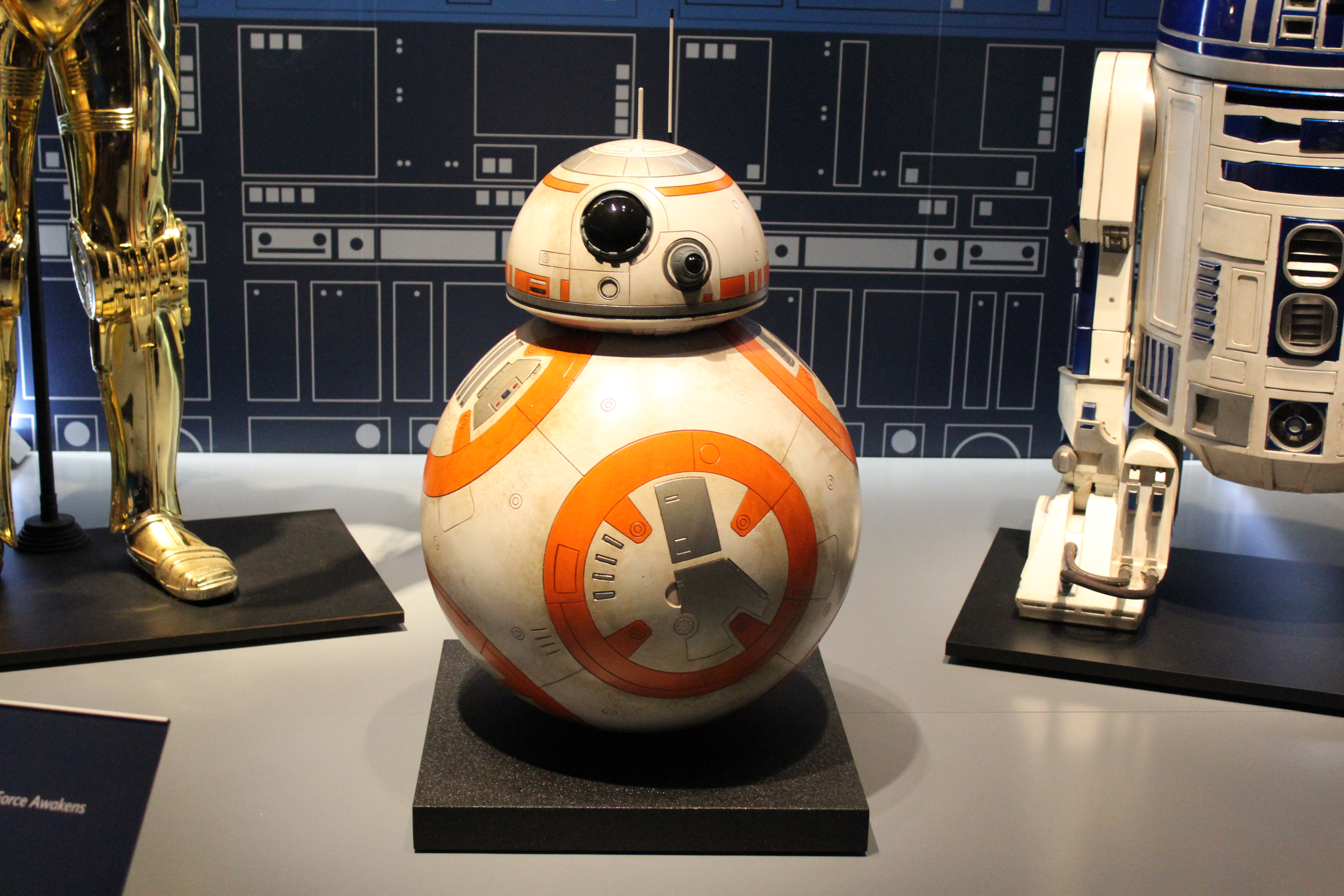Photo of Star Wars droid BB-8.