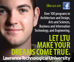 Advertisement for Lawrence Technological University