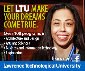 Lawrence Technological University sidebar ad for October