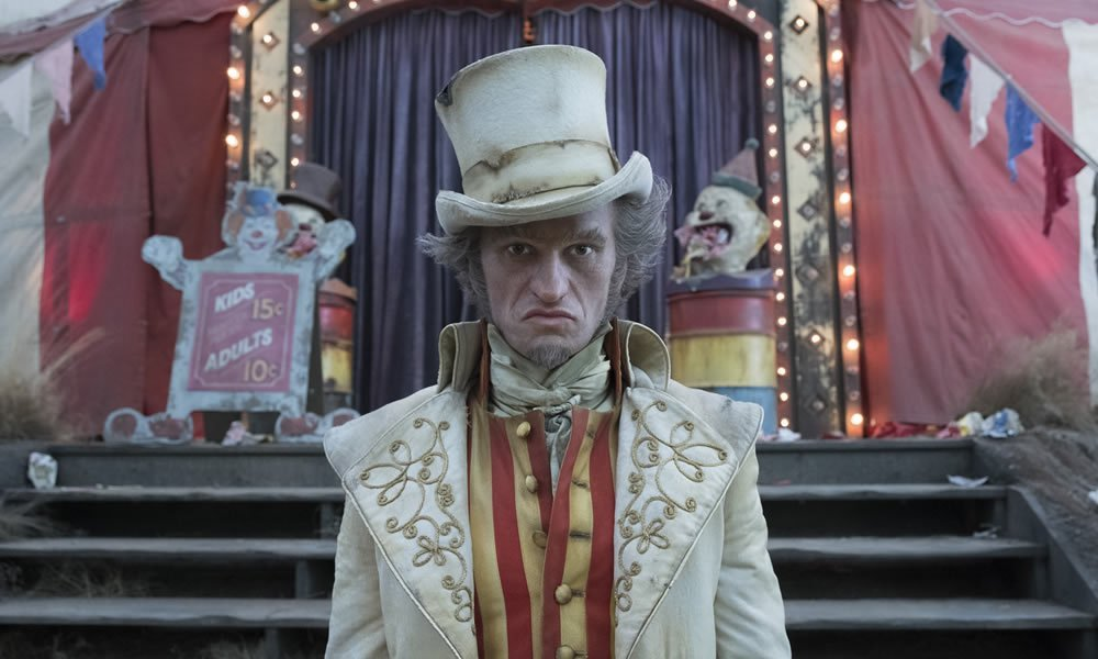 "Neil Patrick Harris as Count Olaf,  ""Series of Unfortunate Events"" courtesy Netflix"