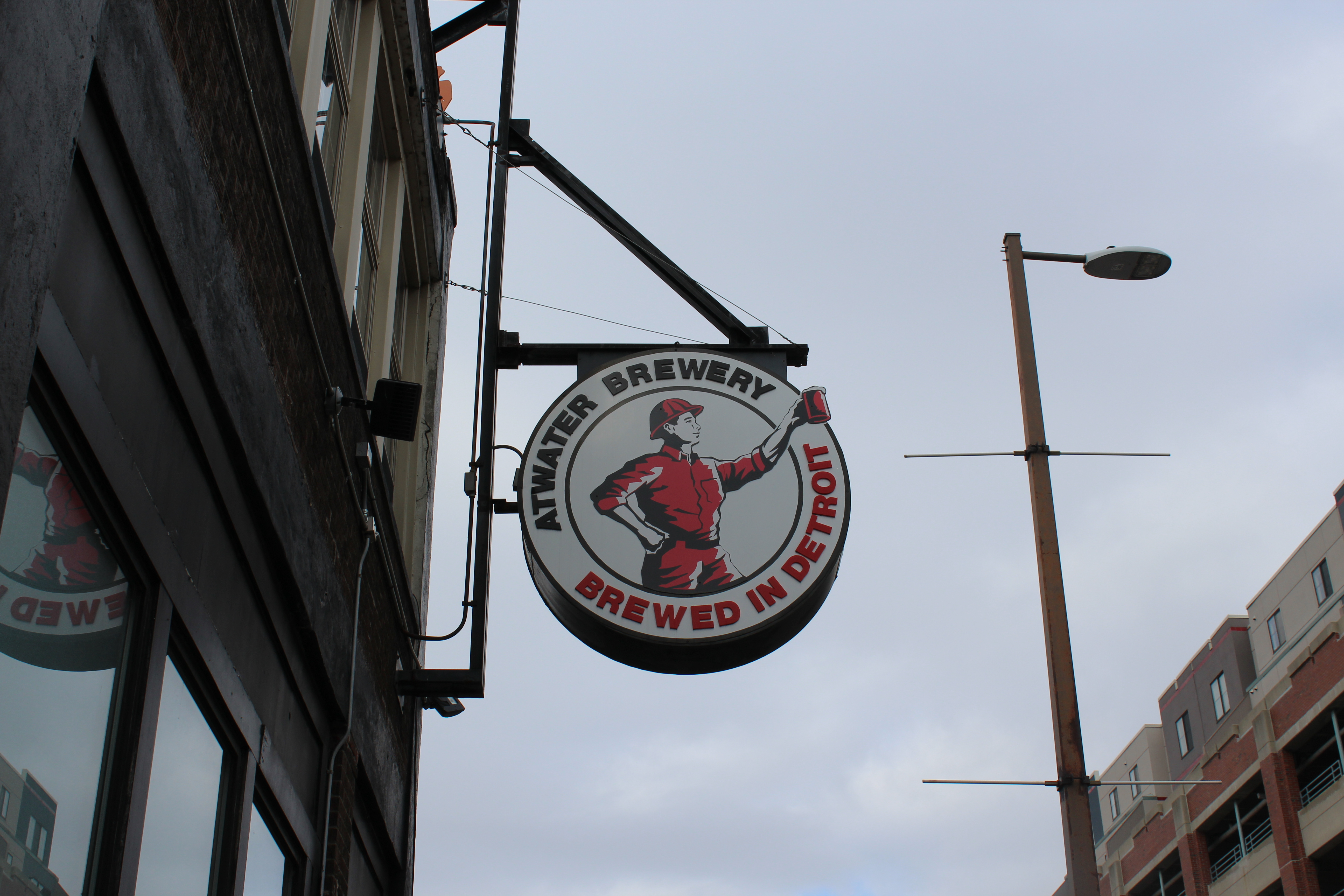 Photo of Atwater Brewery exterior sign