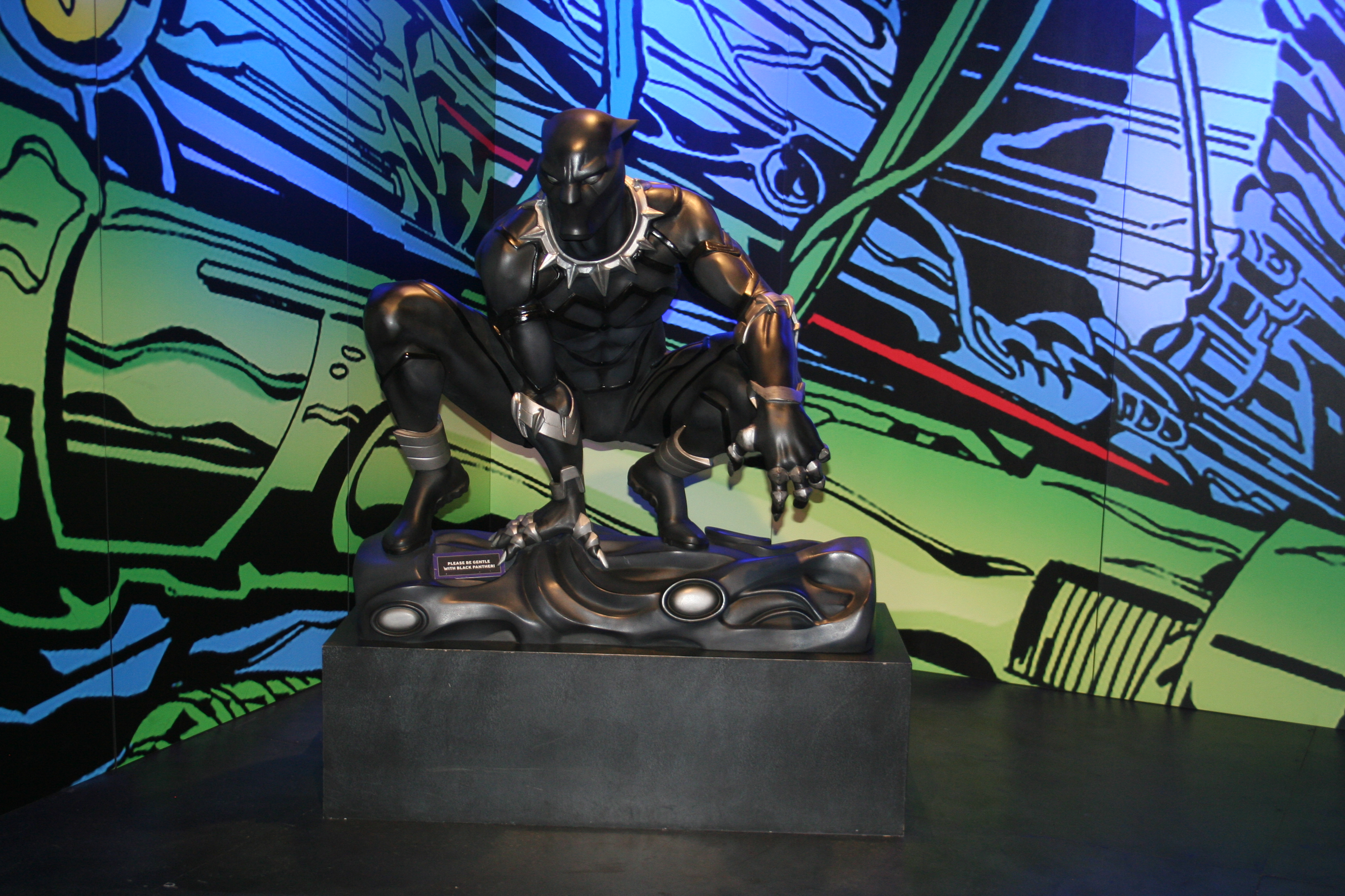 Black Panther exhibit Marvel Universe of Superheroes Henry Ford Museum of Innovation Dearborn MI