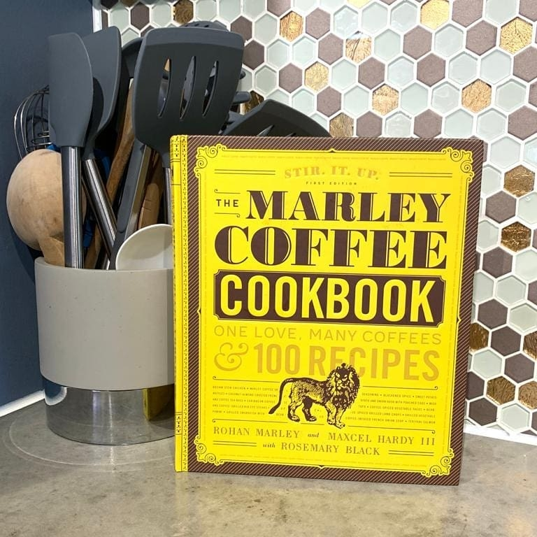 Marley Coffee Cookbook by Marcel Hardy
