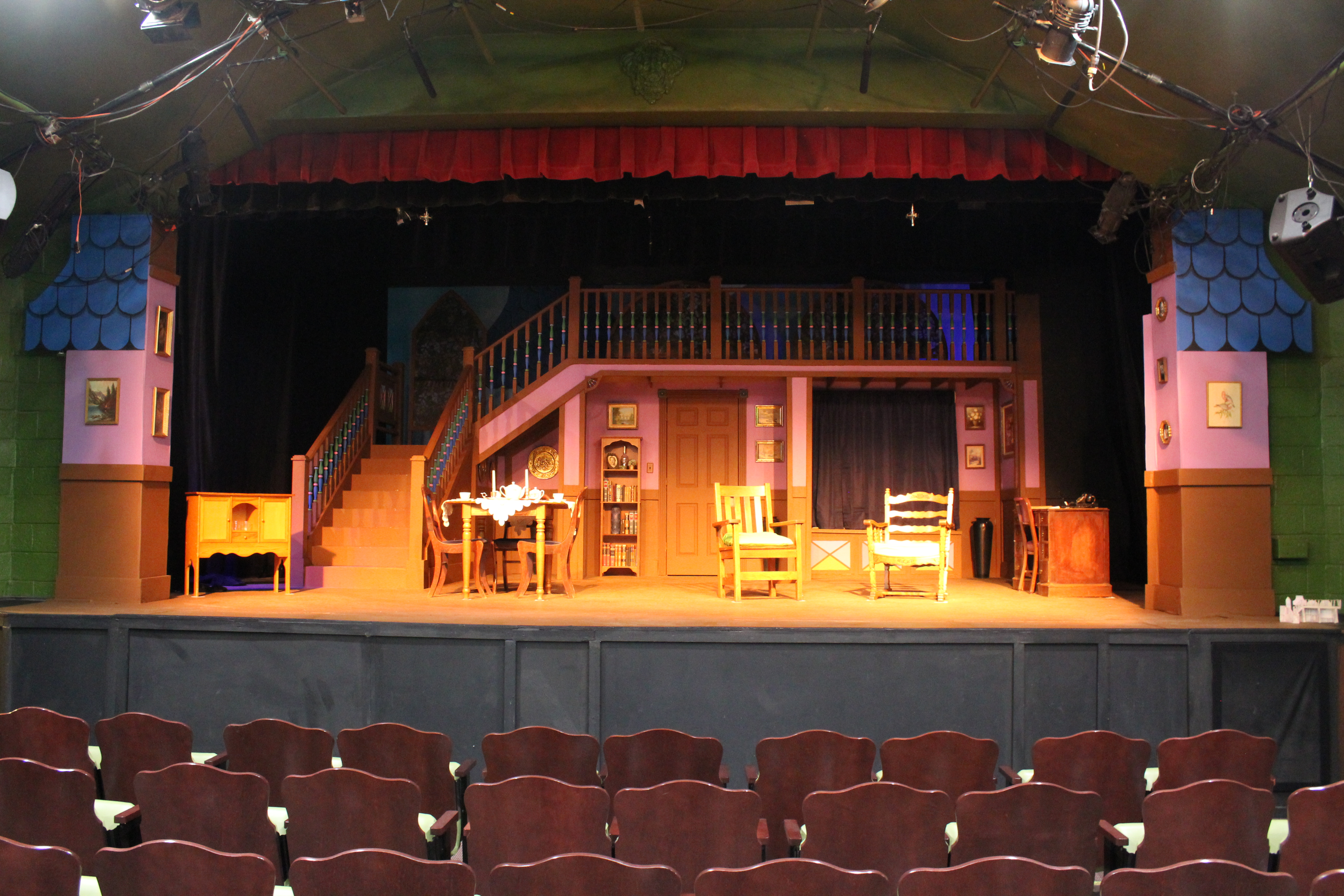 Completed set of Arsenic and Old Lace