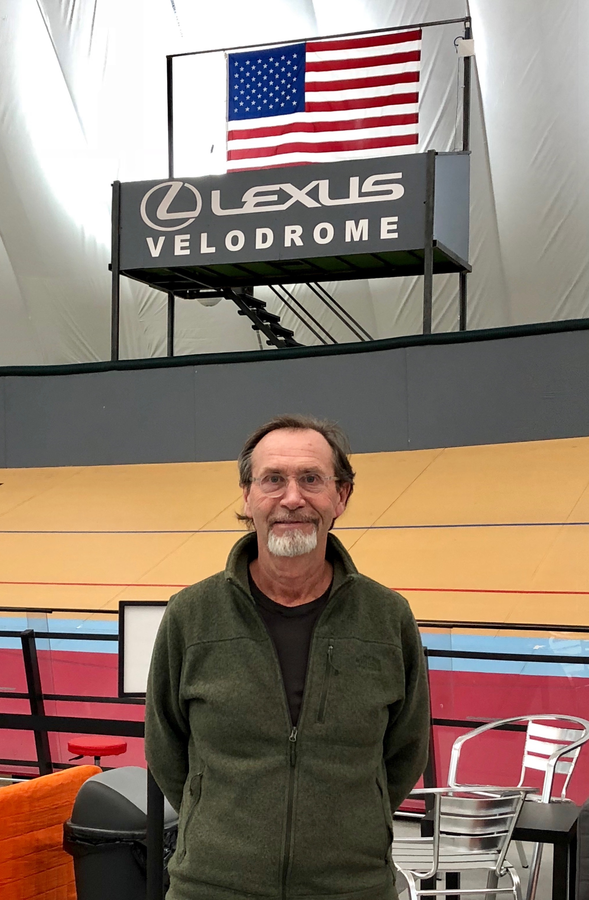 Dale Hughes Lexus Velodrome Designer and Executive Director photo credit Sarah Williams