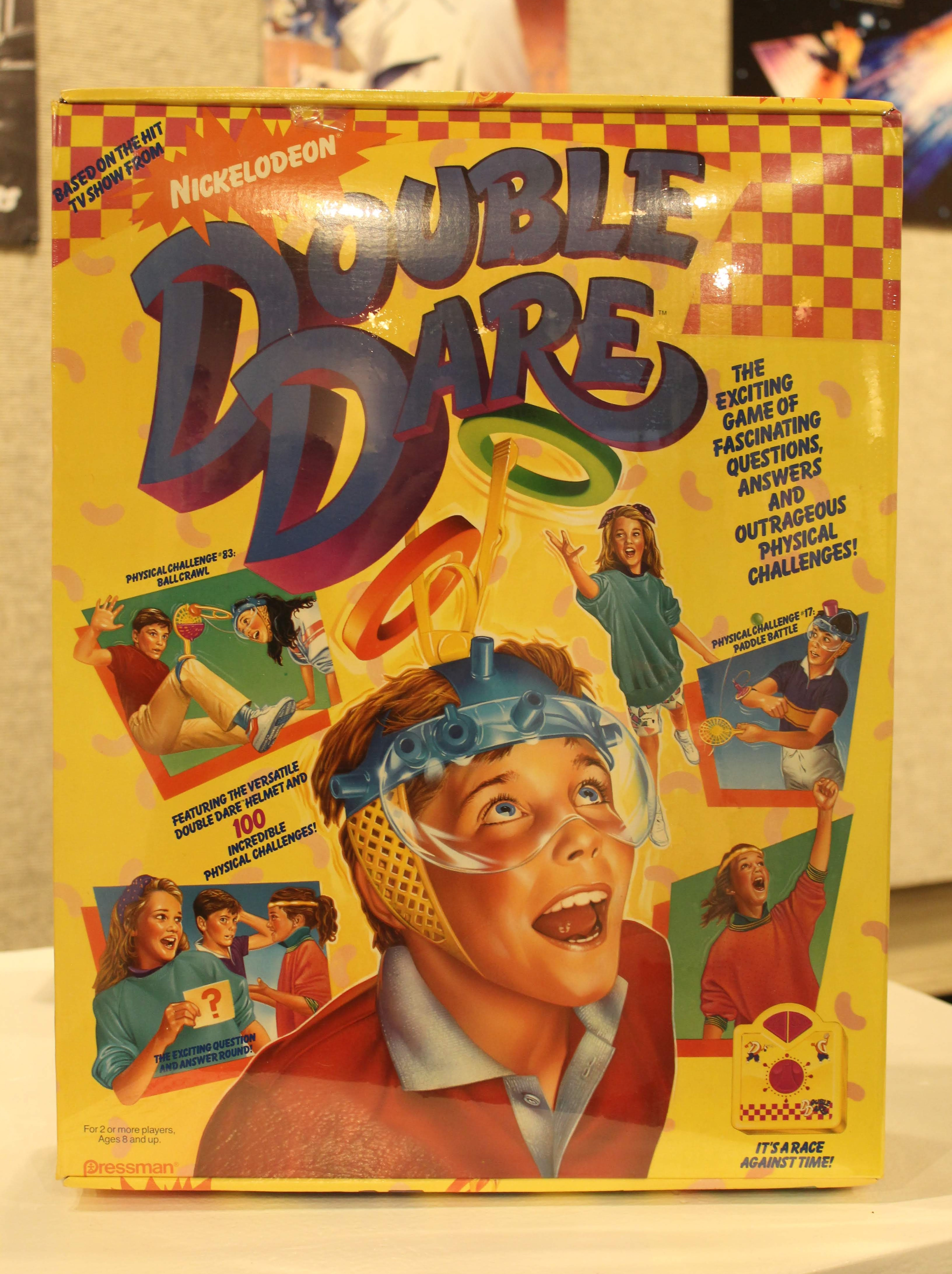 Image of Double Dare Board Game artwork