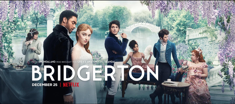 """""""Bridgerton"""" poster courtesy Netflix"""