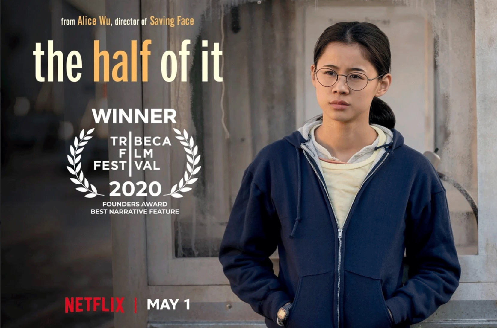 """Leah Lewis as Ellie Chu from """"The Half of It"""" courtesy Netflix"""