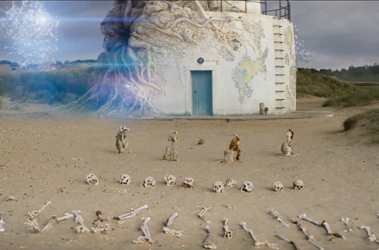 "Lighthouse scene from ""Annihilation"""