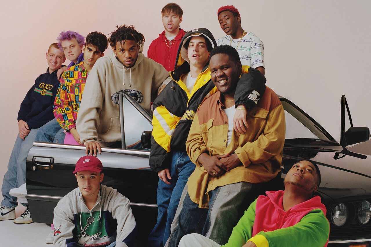 Image of hip-hop group Brockhampton