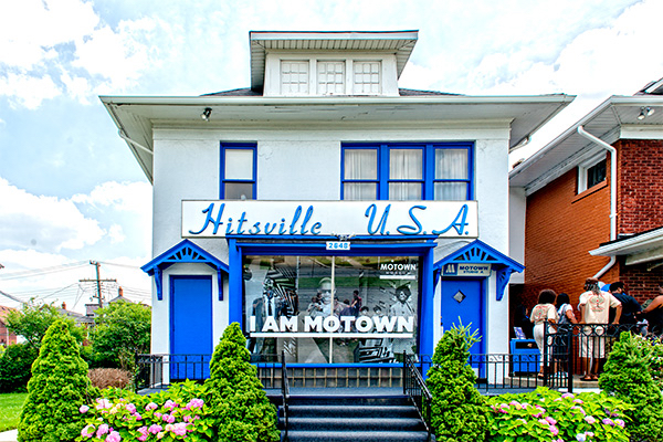 Outside of Hitsville, U.S.A.