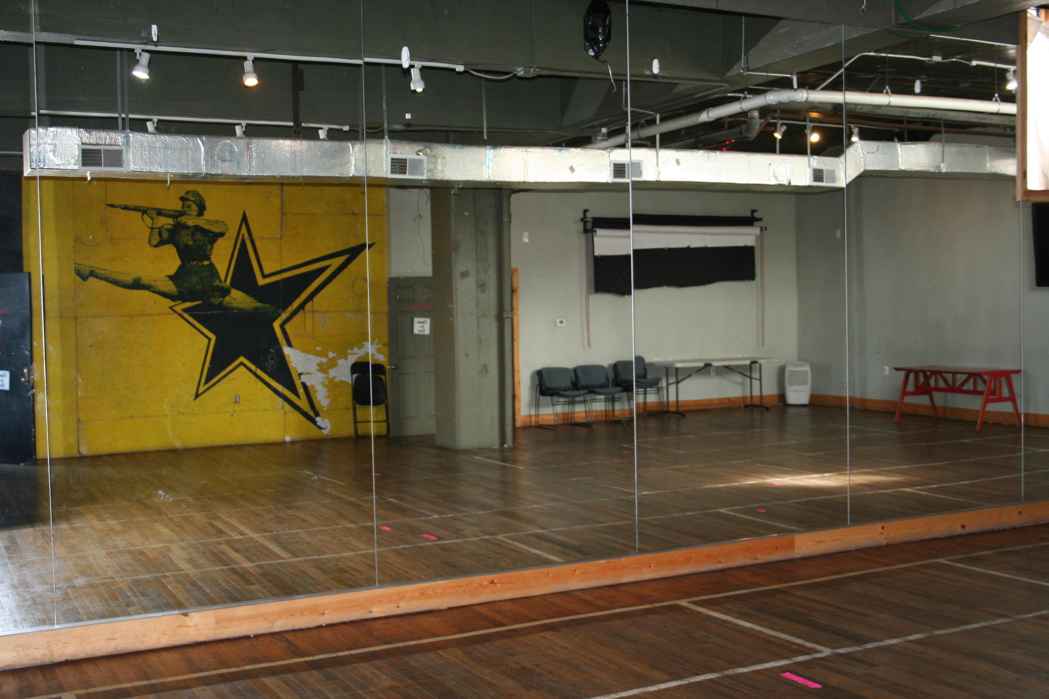 Photograph of Ponyride's dance studio