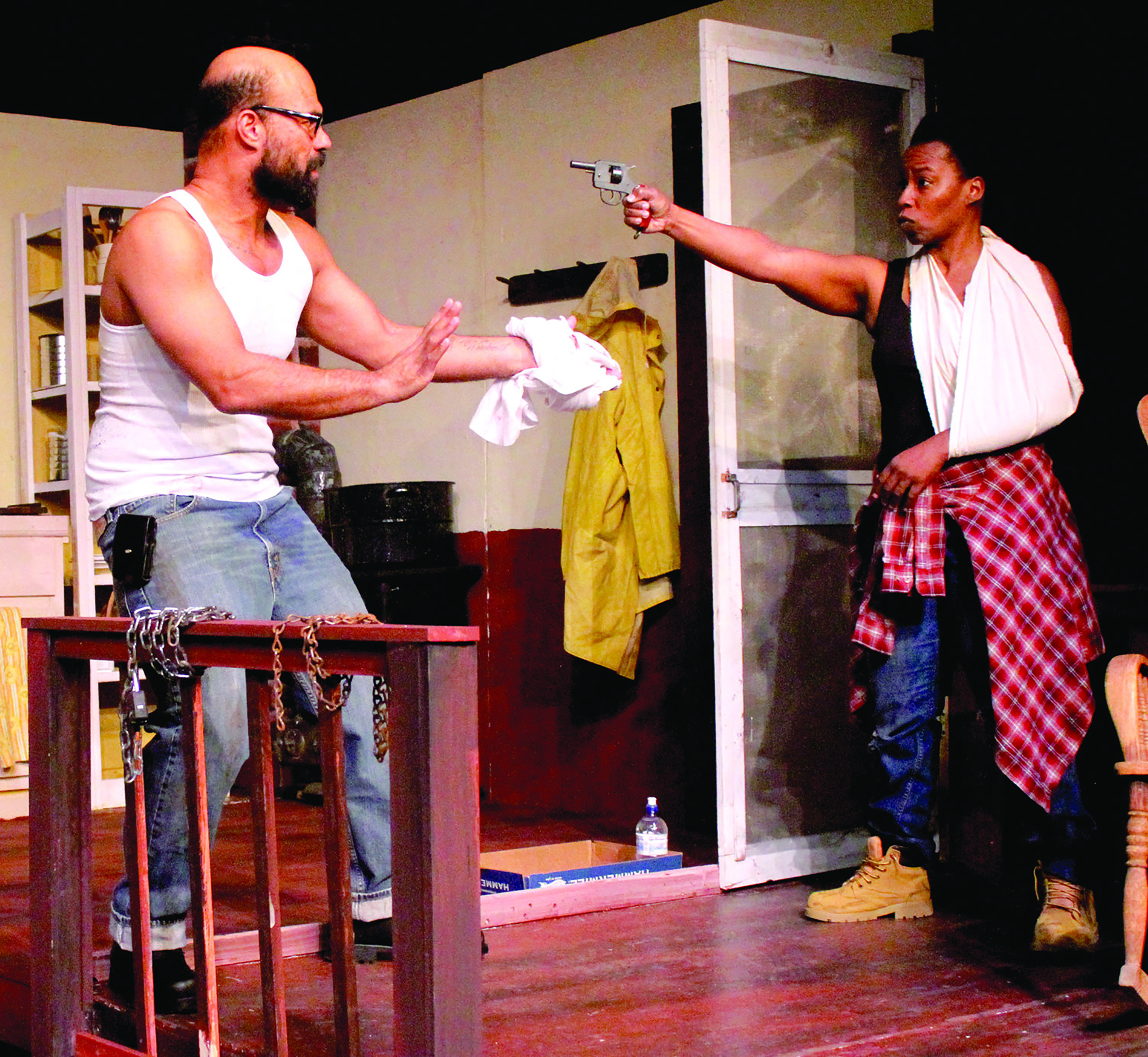 "Scene from ""Dauphin Island""  