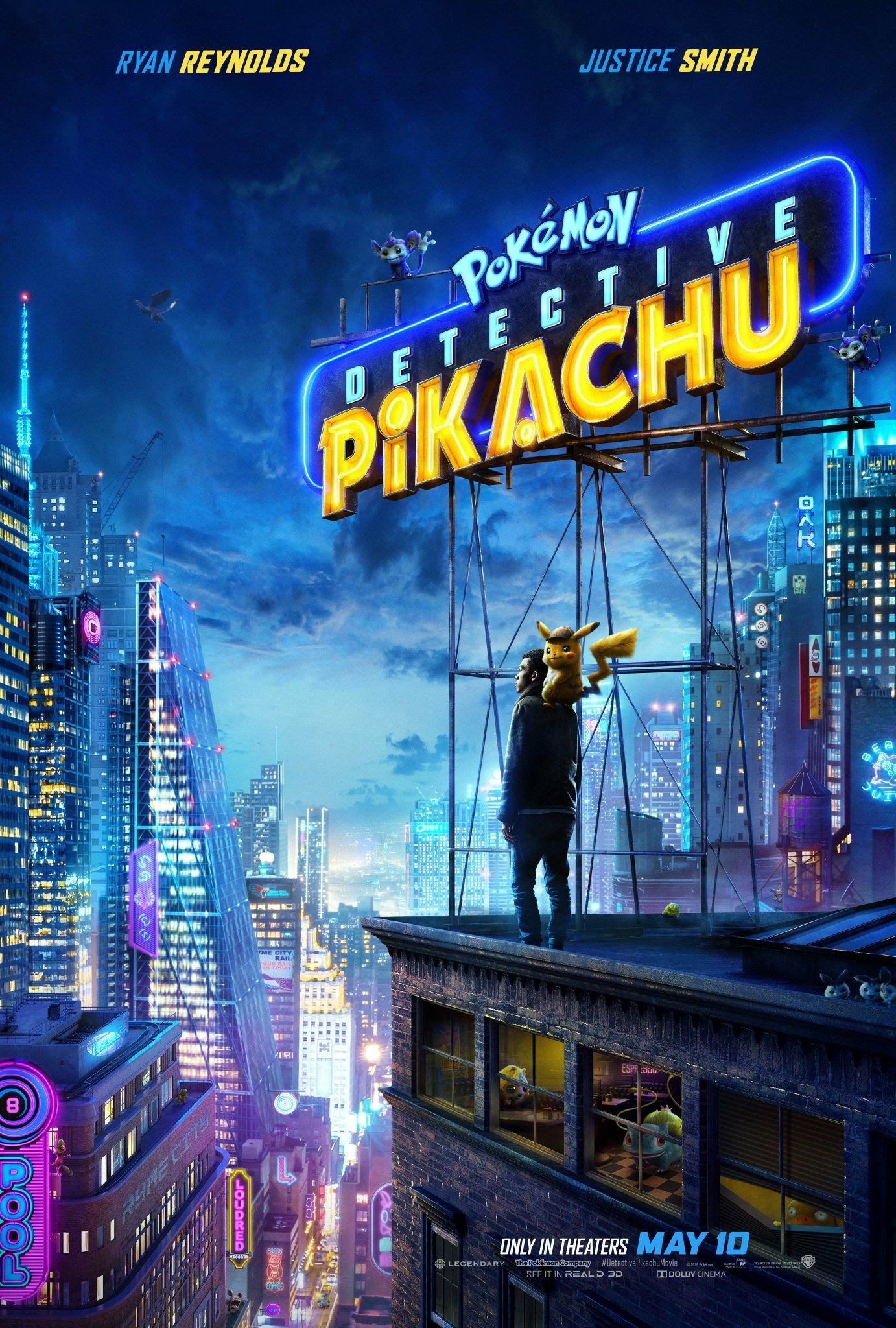 Promotional Poster for Detective Pikachu