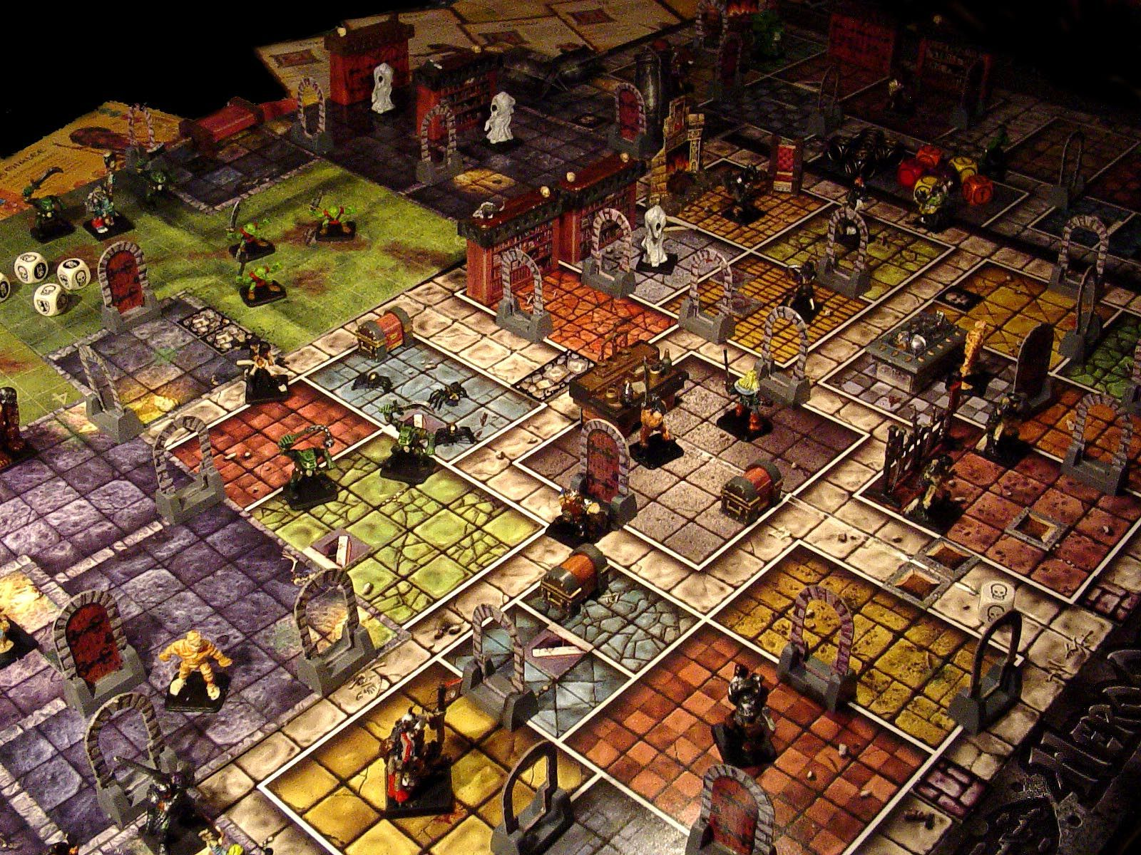 Image of a Dungeons and Dragons board game