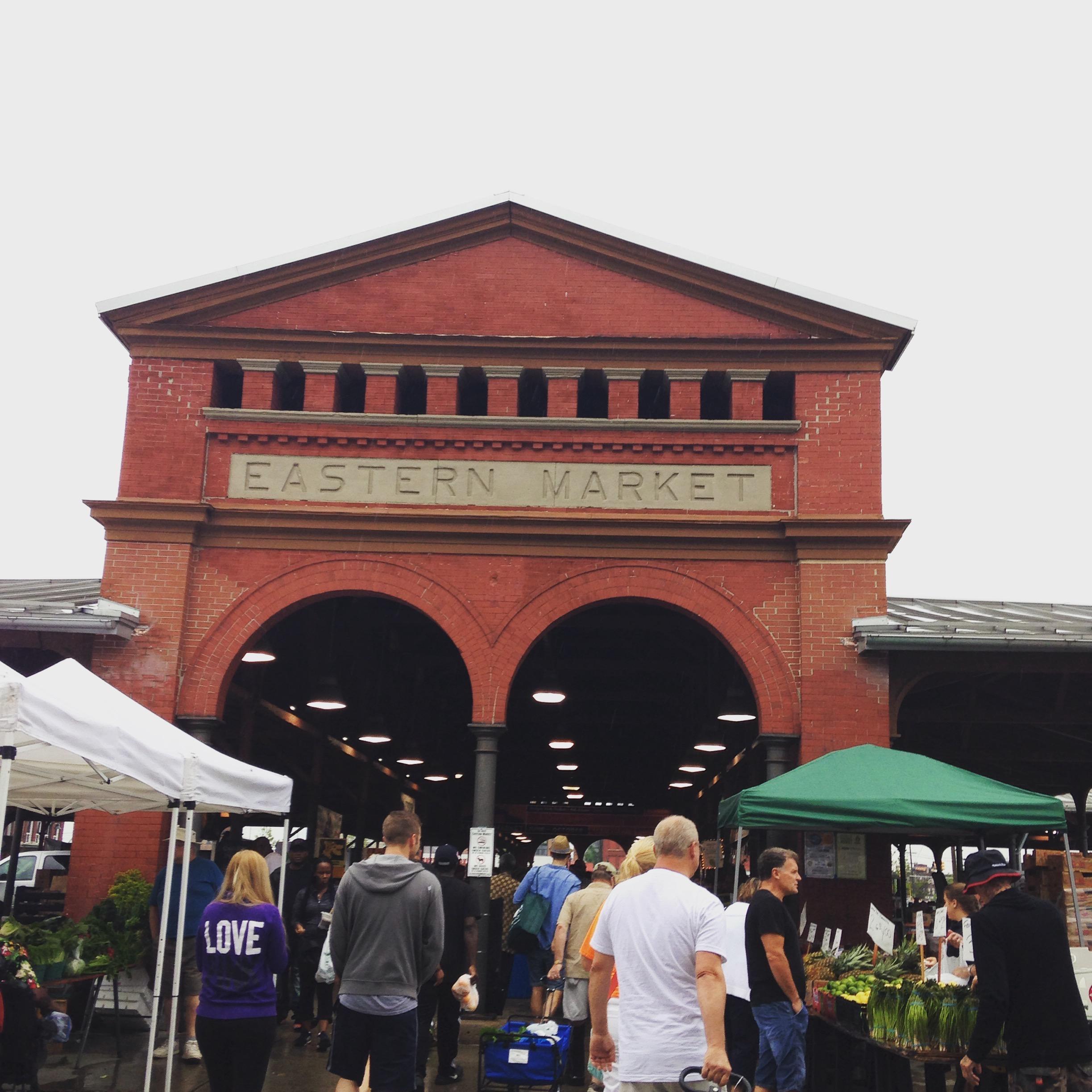 Eastern Market entrance