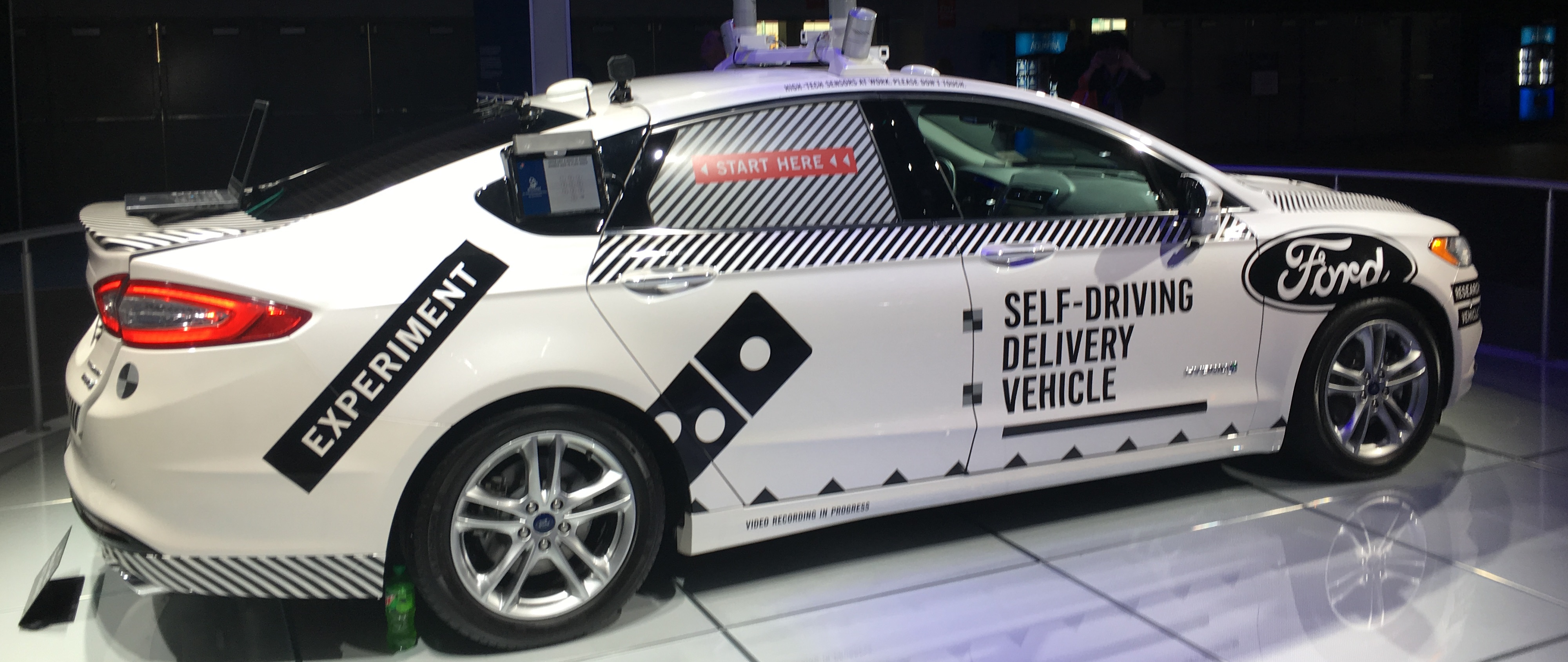 Picture of Ford Motor Company's Self-Driving Prototype