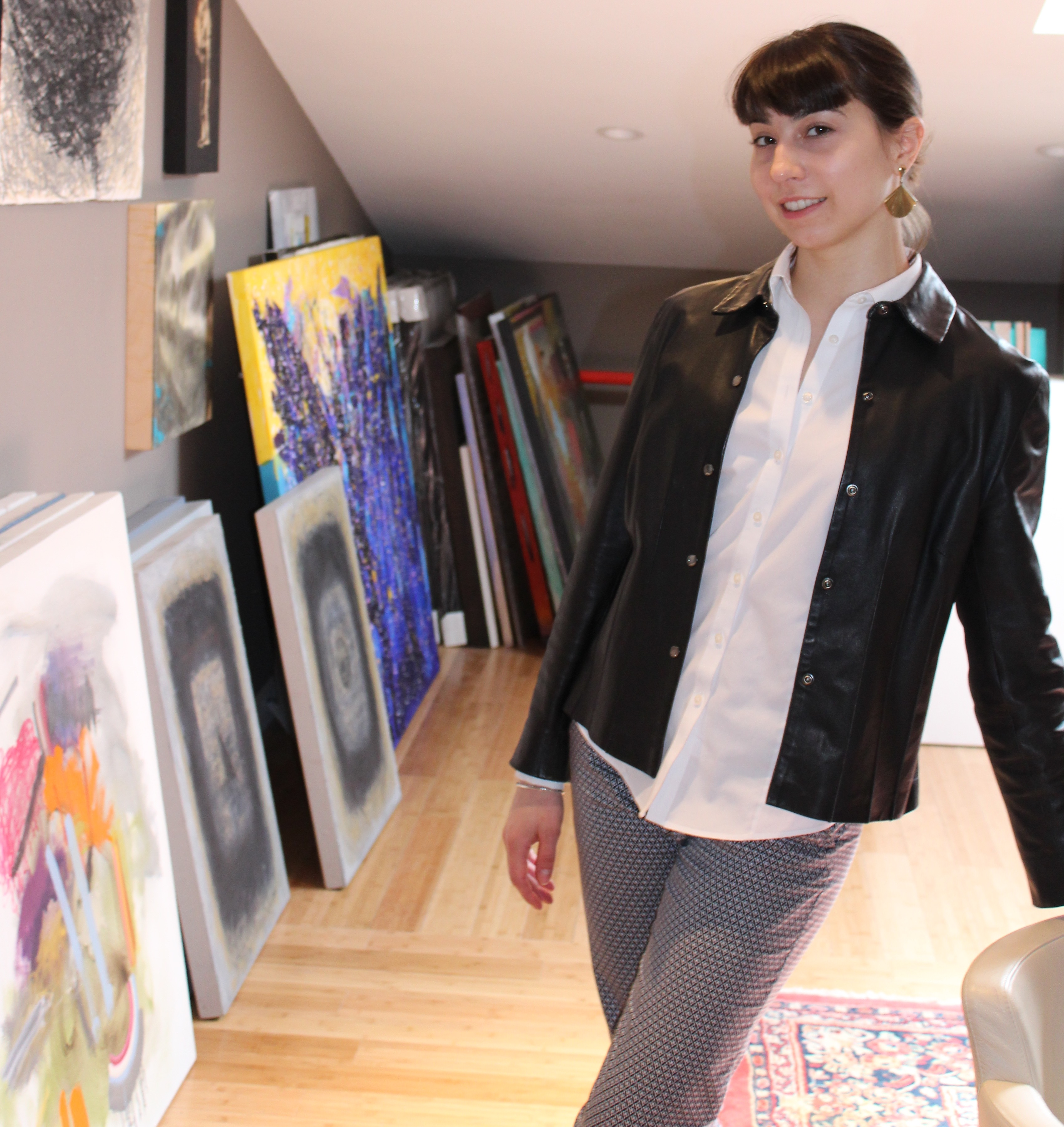 Photo of Isabelle Weiss, Assistant Director, Galerie Camille