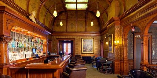 Photo of haunted bar inside the Whitney