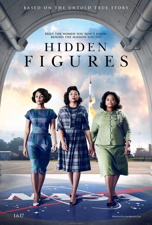 "Movie poster of ""Hidden Figures"""