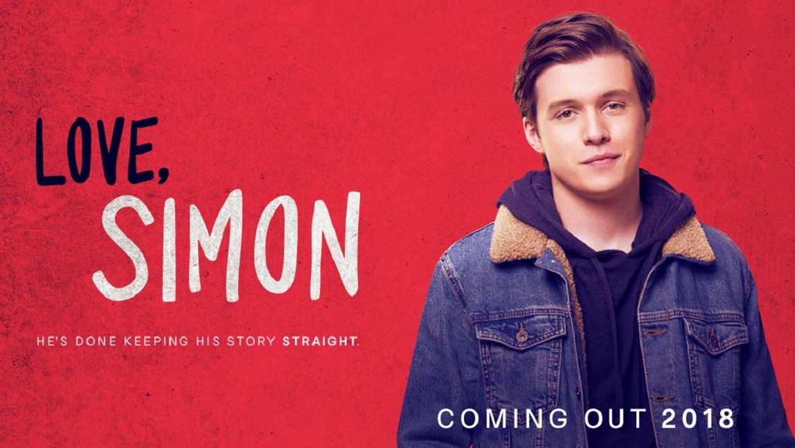 Poster ad for Love, Simon courtesy 20th Century Fox
