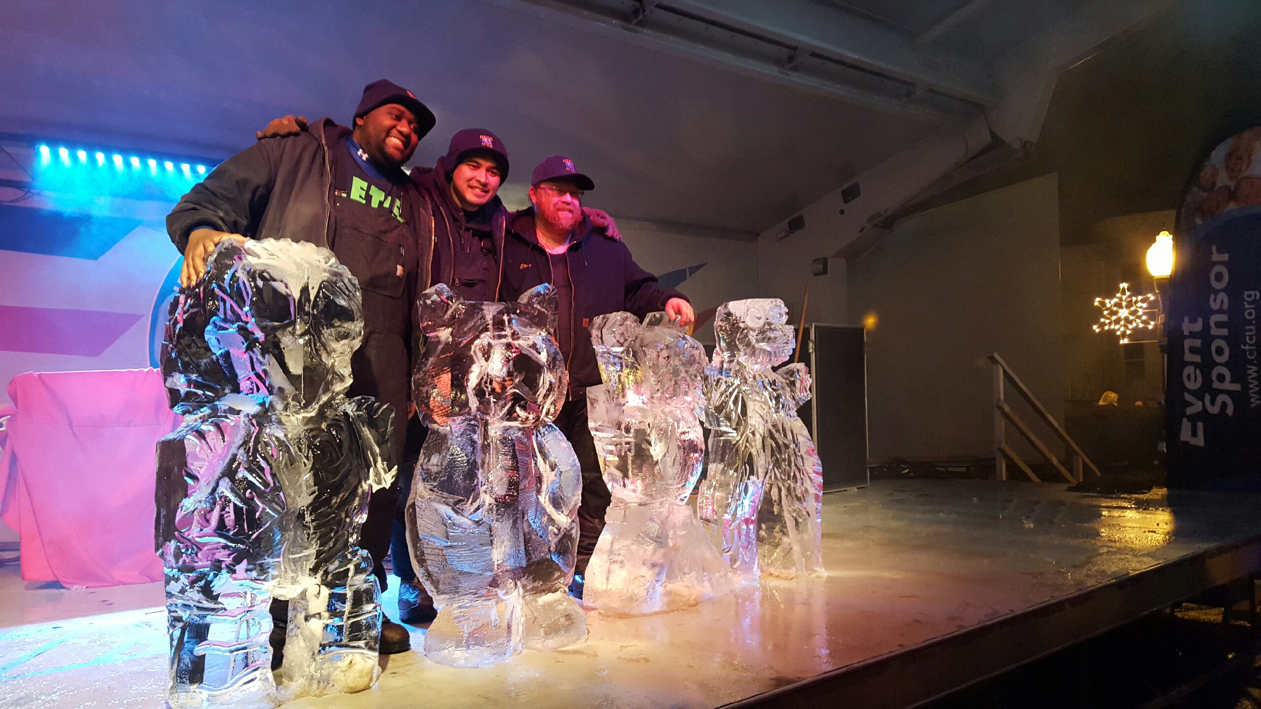 Ice carving club