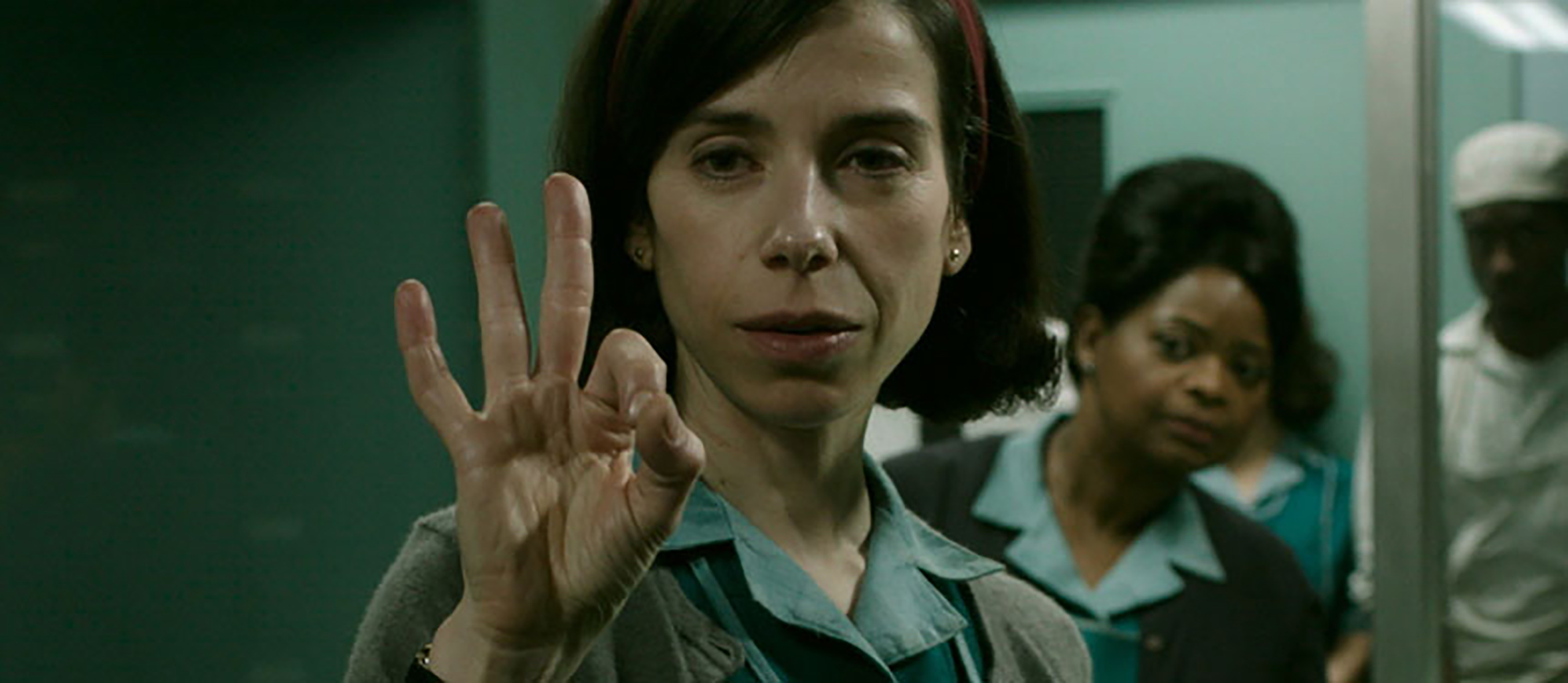 "Sally Hawkins as Elisa Esposito in ""The Shape of Water"""