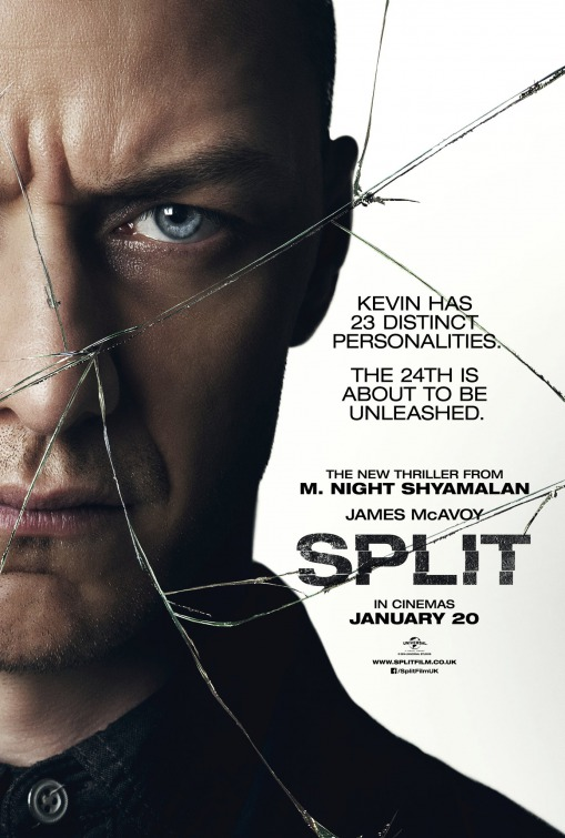 "Movie poster for ""Split"""