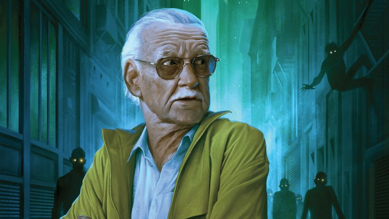 Illustration of Stan Lee