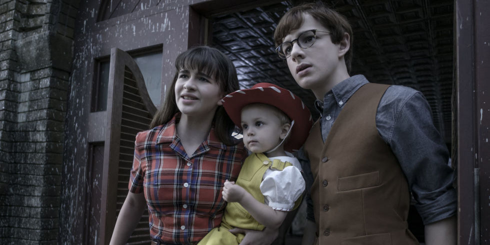 "Scene from ""Series of Unfortunate Events"" season 2 courtesy Netflix"