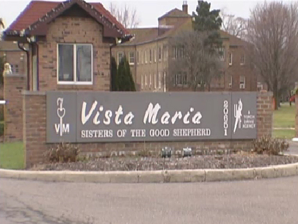 Photo of Vista Maria outdoor signage