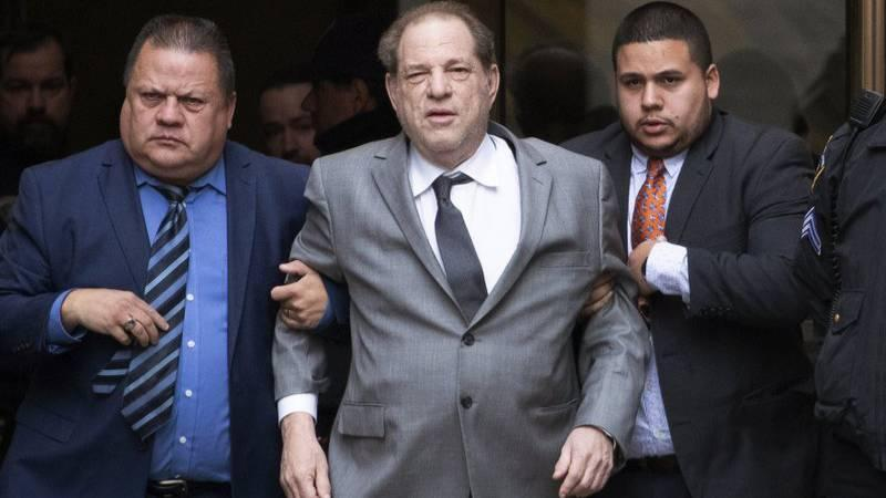 Image shows Harvey Weinstein