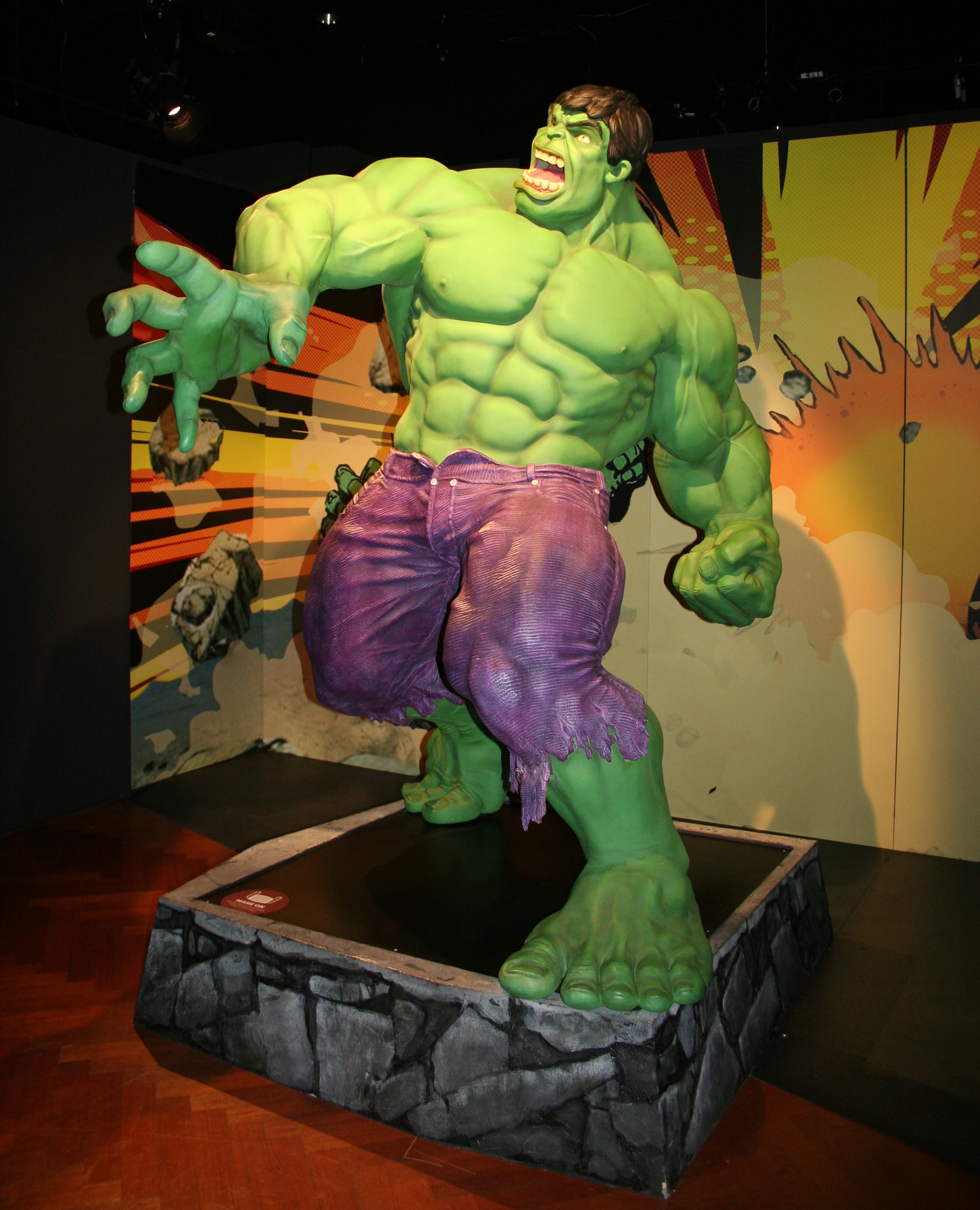 Hulk exhibit Marvel Universe of Superheroes Henry Ford Museum of Innovation Dearborn MI