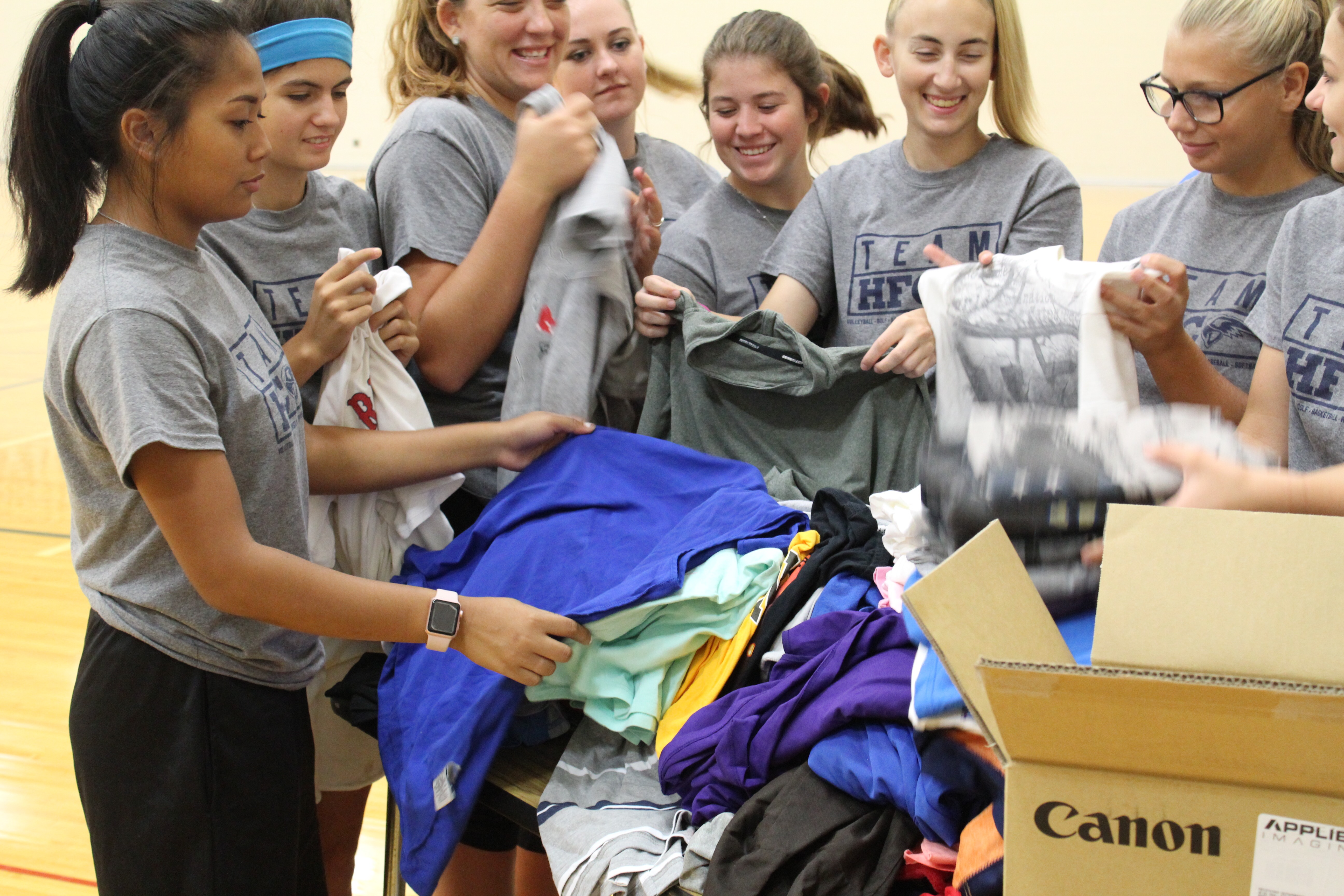 Hawks Athletics Help with Hurricane Relief