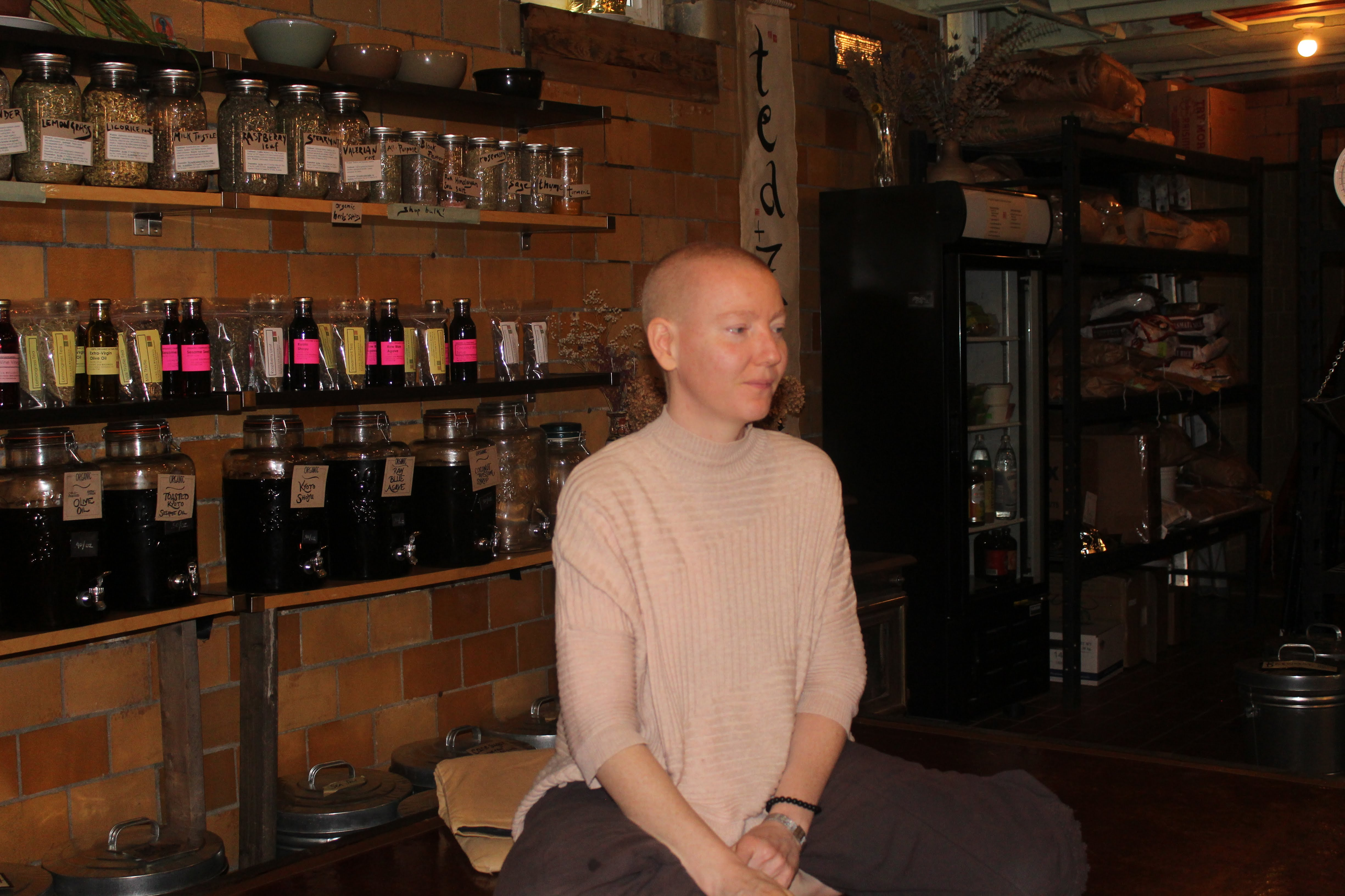 Myungju Sunim at Detroit Zen Center