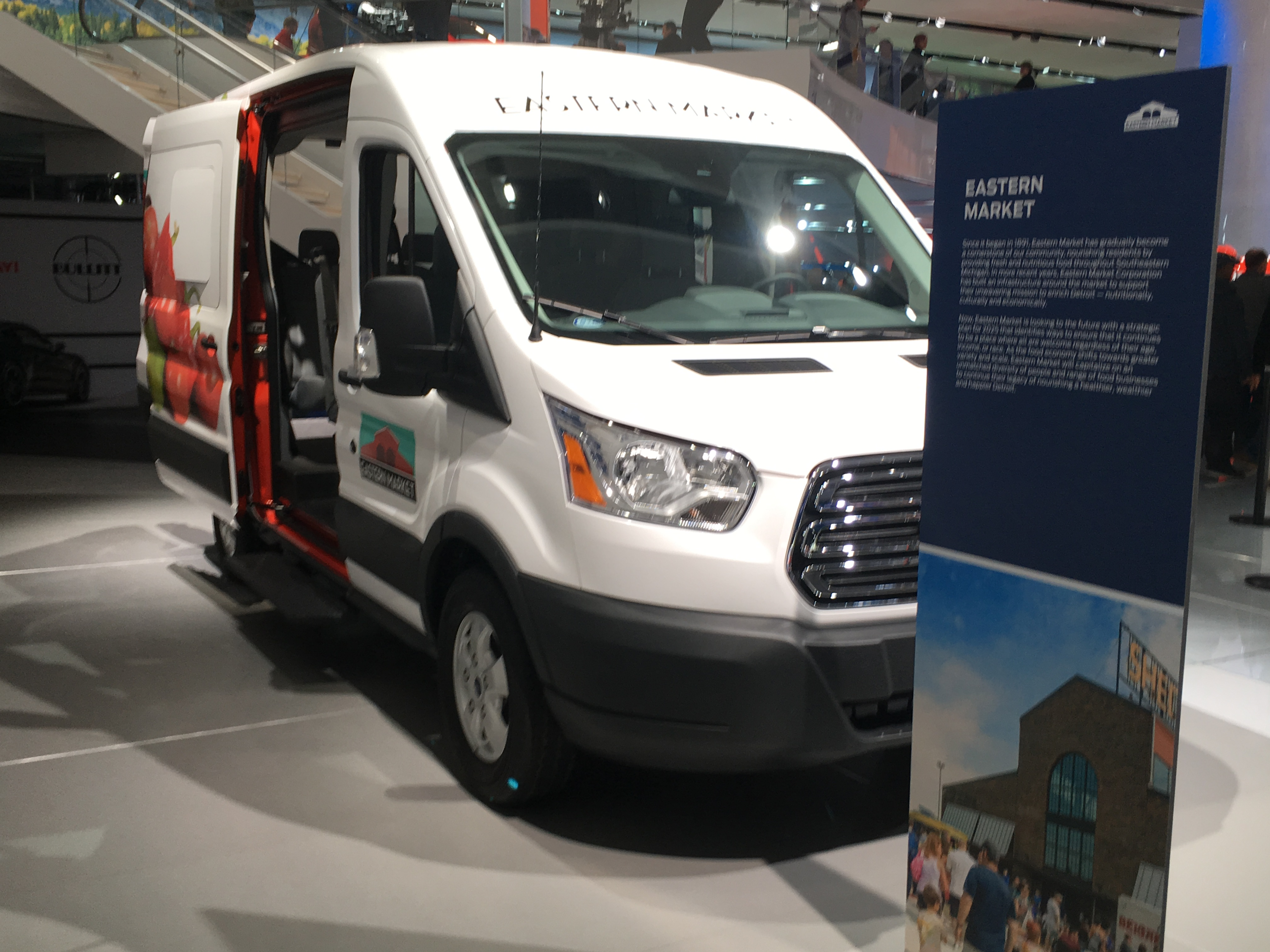 Ford Transport involved with Eastern Market and Ford partnership project