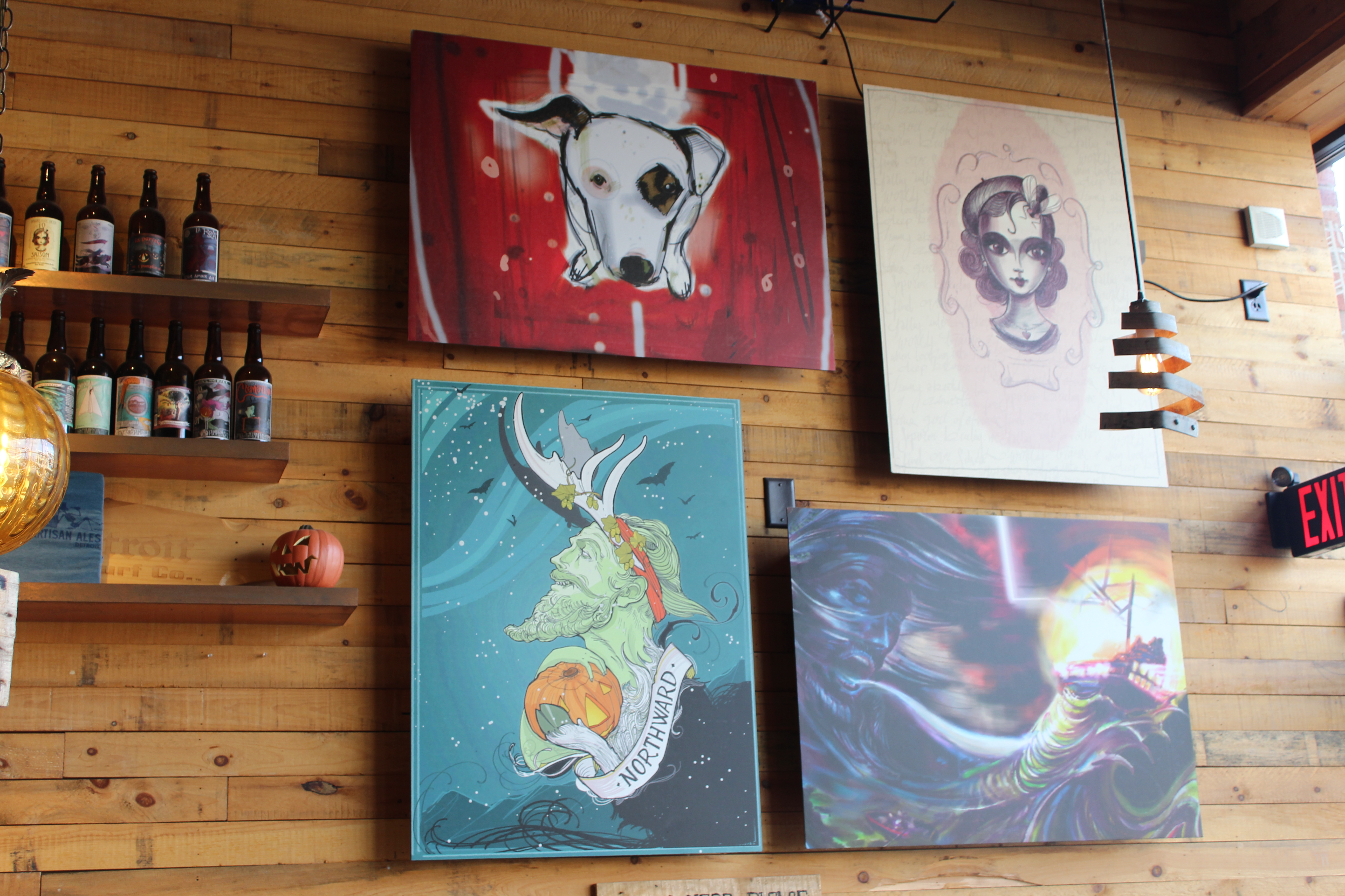Photo of Jolly Pumpkin artwork