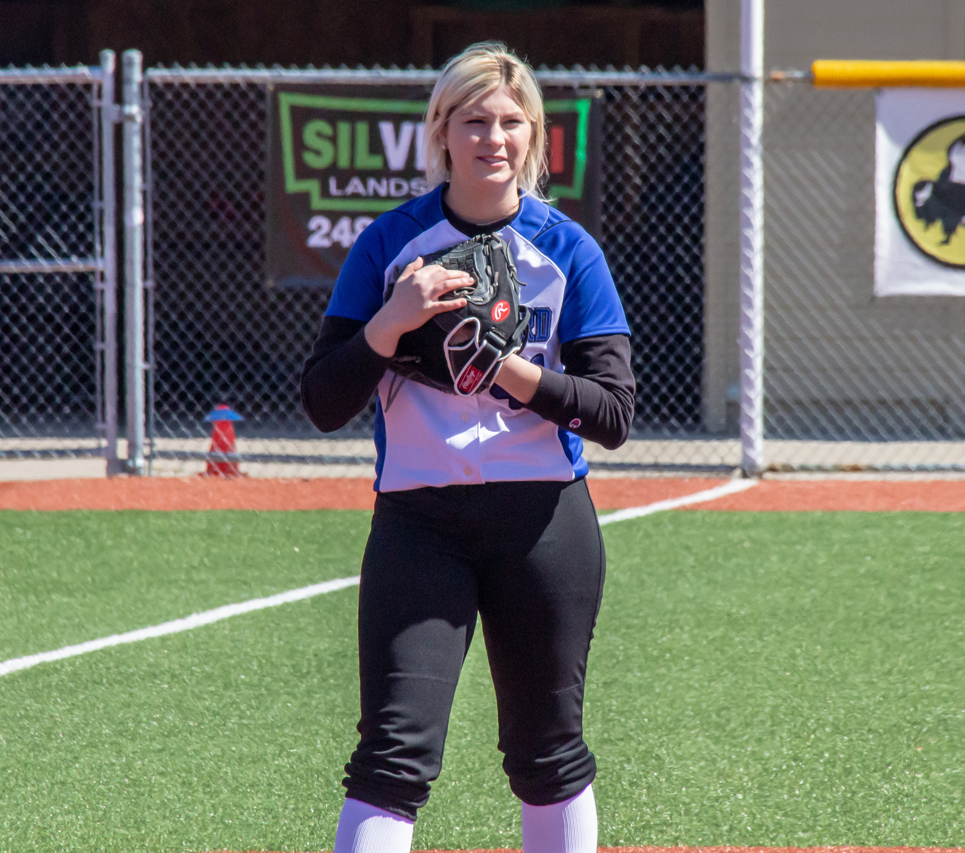 Photo of HFC softball player Katelyn Sadowski