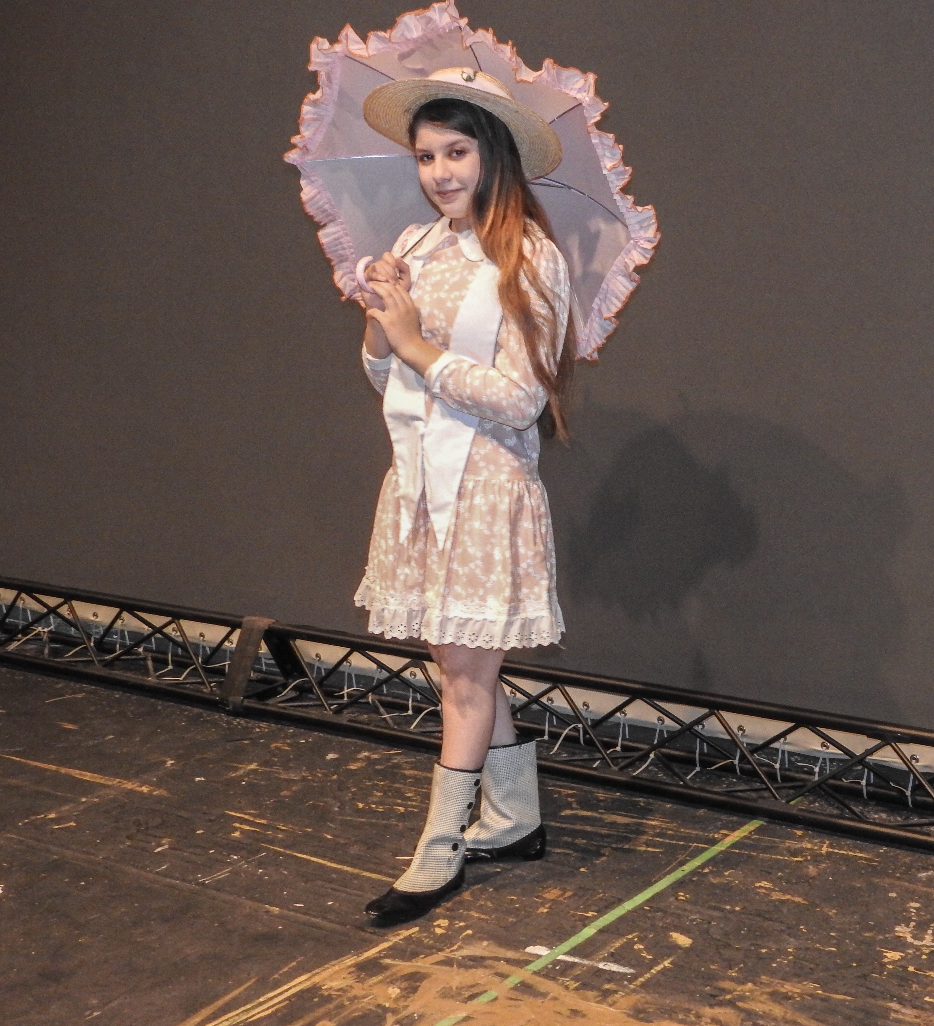 Katherine Seeley playing Jane Banks in the Henry Ford College production of Mary Poppins