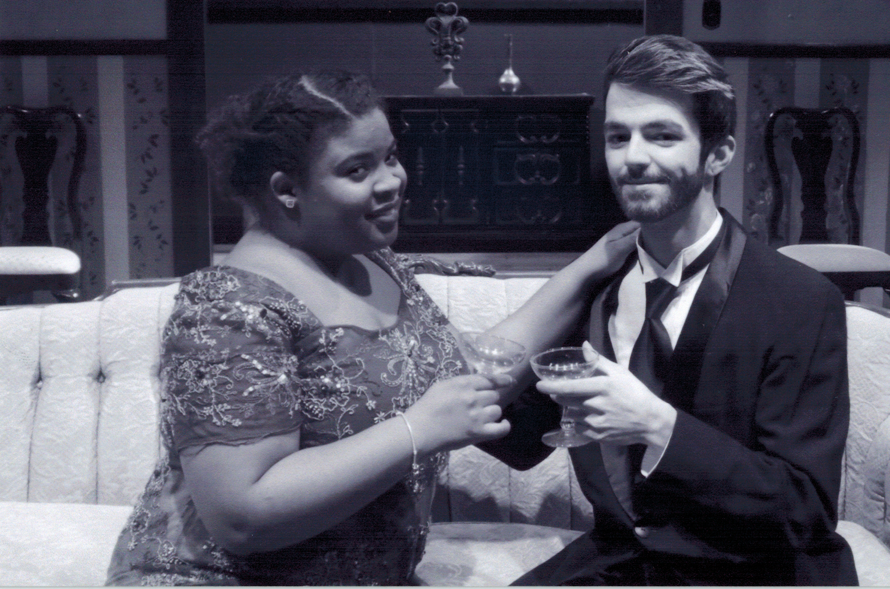 Kennedy Cooper as Ruth and Jesse Mattox as Charles | Photo by Steven Ruth