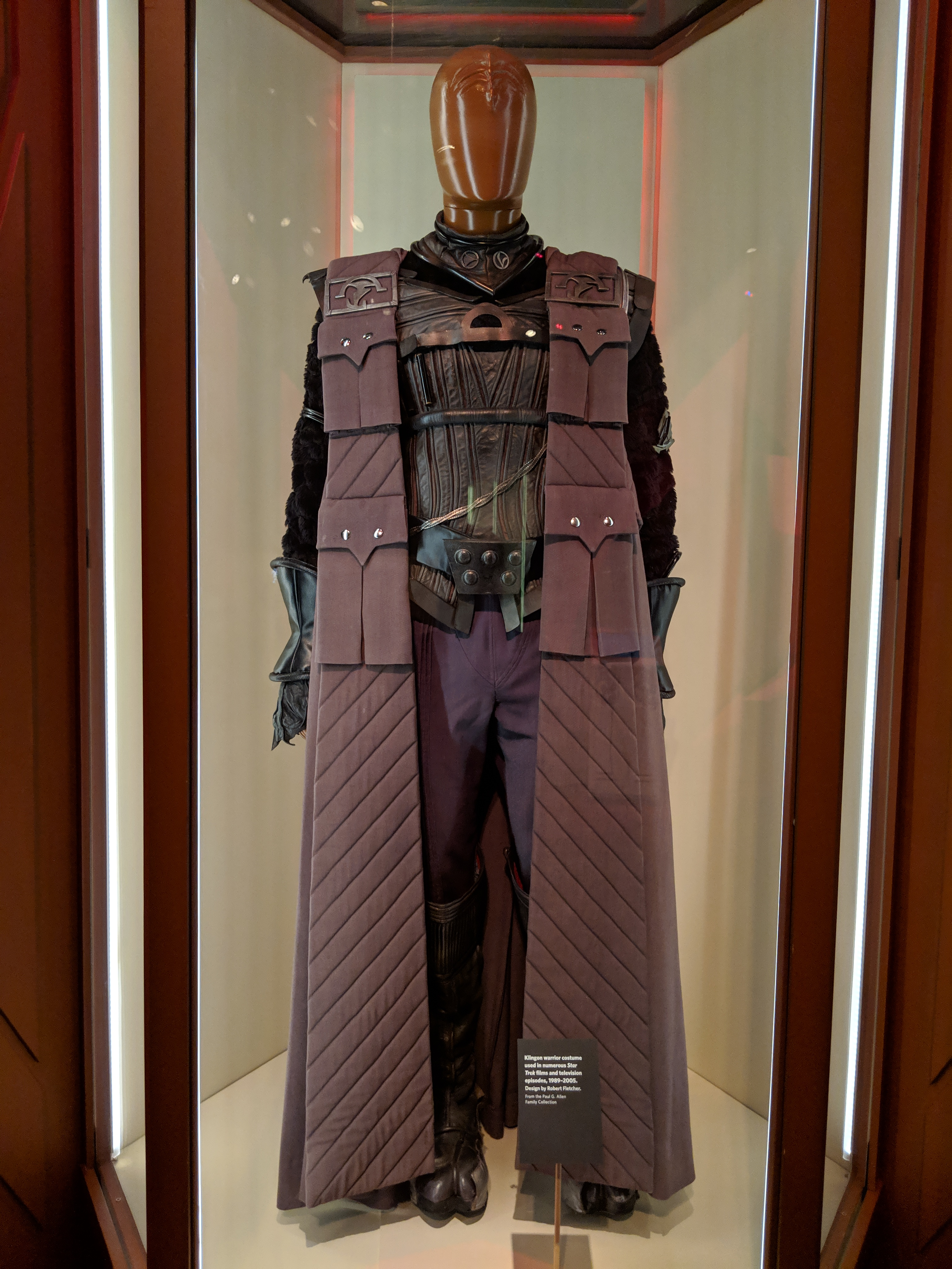 Photo of Klingon Warrior costume