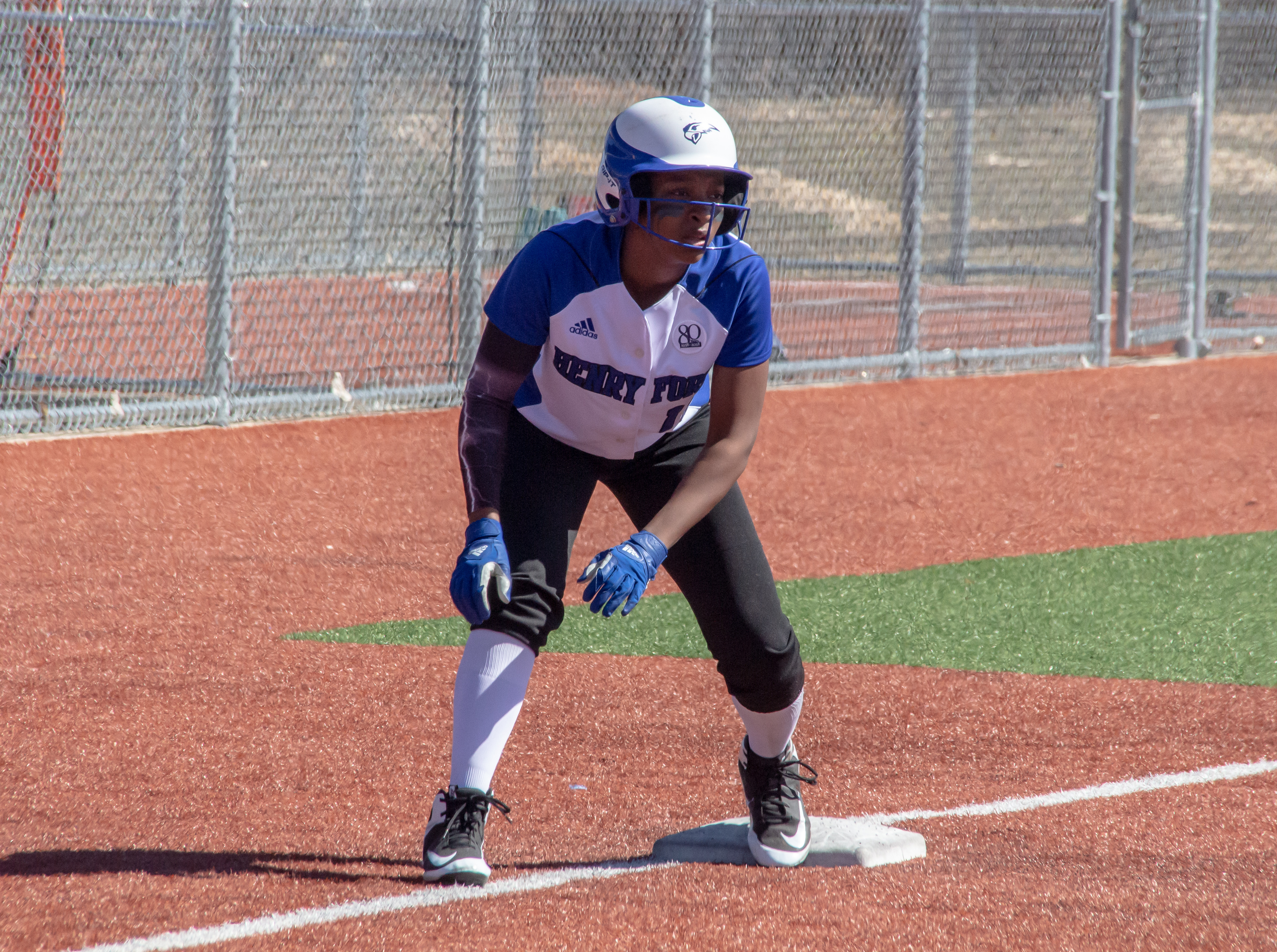 Photo of HFC softball player Moya Jones