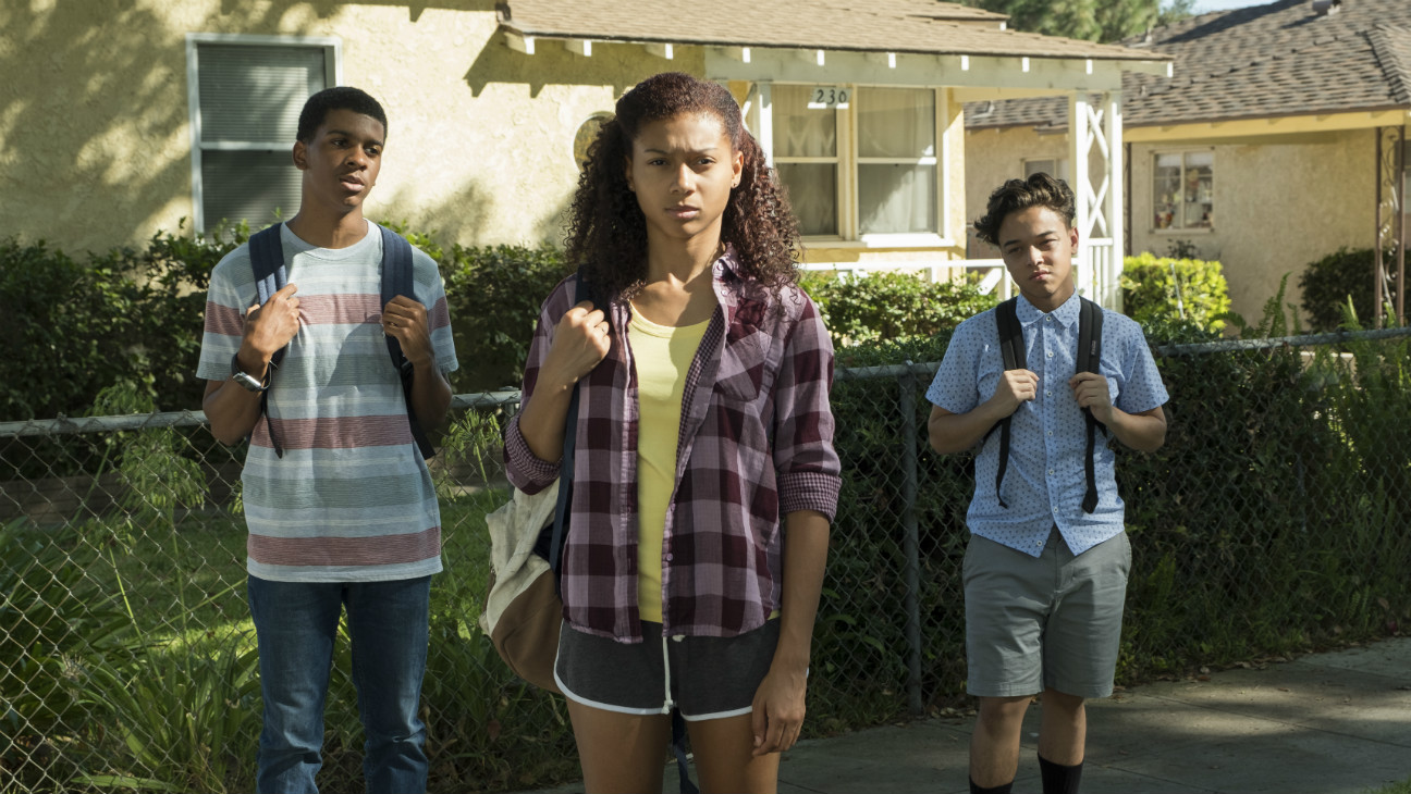 "Scene from ""On My Block"" courtesy Netflix"