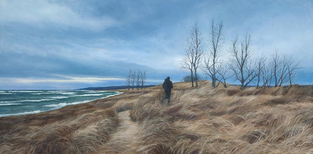 Landscape painting by Ed Duff