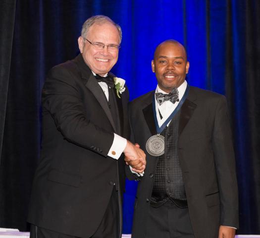 Dr. Stan Jensen and Rayford McKinstry