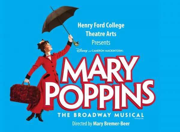 Promotional image for HFC's production of Mary Poppins