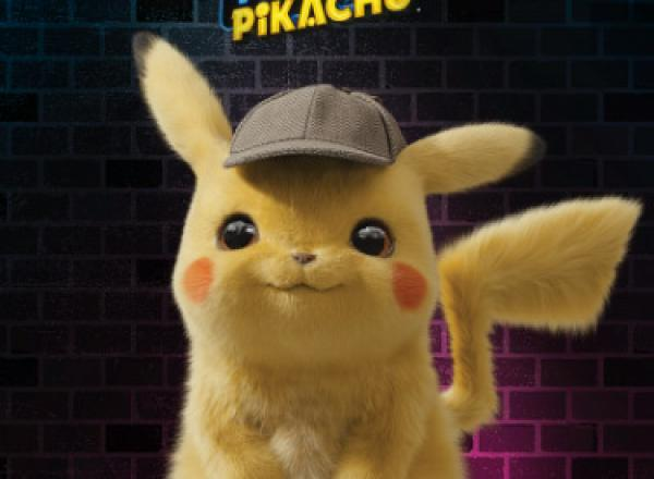 Image of Pikachu from Detective Pikachu
