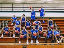 Photo of HFC's Men's Basketball Team