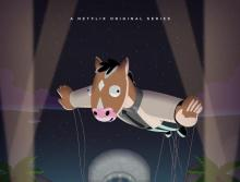 "Poster for season five of Netflix show, ""BoJack Horseman"""
